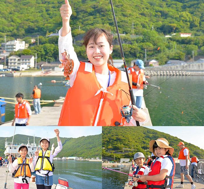 ファミリーやグループで、一日釣りを楽しみましょう!